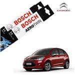 Palheta Limpador Parabrisa Novo C3 13-17 Bosch