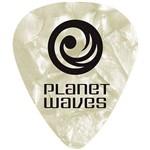 Palheta para Guitarra de Celuloide 1cwp2-10 - Branco Pérola - Leve - (pct com 10 Unidades)