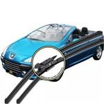 Palheta Peugeot 307 CC Limpador de Para-brisas Dianteiro