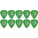 Palheta Planet Waves Duralin Standard 0,85mm Medium Verde 1dgn4-10 - 10 Unidades