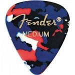 Palheta Tradicional 351 Média Confetti Fender