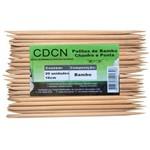 Palito de Bambu Chanfro e Ponta com 50 Unidades Cdcn