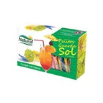 Palito Guarda Sol - Natural - 144 Unidades - Ideal para Enfeite de Drinks e