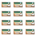 Palmolive Esfoliação Suave Sabonete Coco 85g (kit C/12)