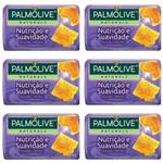Palmolive Naturals Nutrição e Suavidade Sabonete Geléia Real 85g (kit C/06)