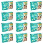 Pampers Comfort Sec Fralda Infantil M C/44 (kit C/12)