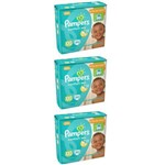 Pampers Comfort Sec Fralda Infantil Xxg C/30 (kit C/03)