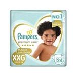Pampers Premium Care Fralda Infantil Mega Xxg C/24