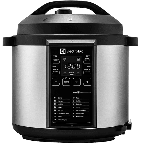 Panela de Pressão Elétrica 6l Electrolux Chef Pcc20