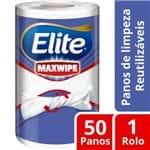 Pano de Limpeza Reutilizável Elite Maxwipe 1 Rolo com 50 Unidades