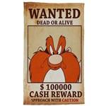 Pano de Prato Looney Tunes Wanted
