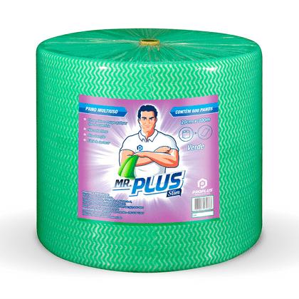 Pano Limpeza Leve 20x300m Verde Pro Plus