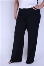 Pantalona Plus Viscolycra Preto M