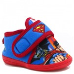 Pantufa Ricsen Botinha Infantil Super Homem SUPERMAN | Betisa