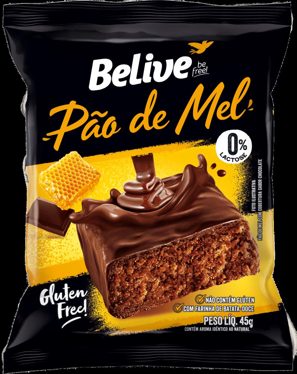 Pão de Mel 45g - Belive