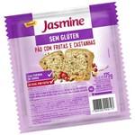 Pão Frutas e Castanhas S/ Glúten 175g - Jasmine