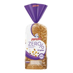 Pão Plus Vita 0 % 12 Grãos 350g