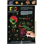 Papel A4 Color Papel Magico Multicolor A-4 5f Kit Pacote