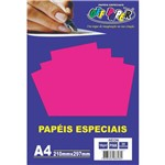 Papel A4 Neon Pink 180g.