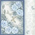 Papel Adesivo Decoupage Quadrado Litocart LAQ-103 20x20cm Flores