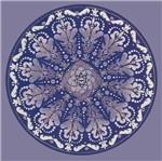Papel Adesivo Decoupage Redondo Litocart LAR-015 20,5x20,5cm Mandala Medieval