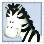 Papel Adesivo Decoupage Zebra Lax-175 - Litocart