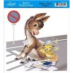 Papel Arte Francesa Litoarte Cavalo Afxv-058