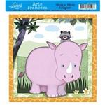 Papel Arte Francesa Litoarte Hipopotamo Afxv-082