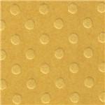 Papel Cardstock PCAR464 Bolinhas II Amarelo Mostarda