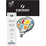 Papel Color Branco A4 180g/M² 10 Folhas Canson
