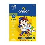 Papel Color Plus Criativo A4 32fls Canson