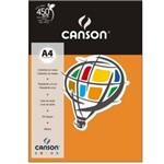 Papel Colorido Canson A4 180g/m² 10 Folhas Laranja