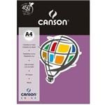 Papel Colorido Canson A4 180g/m² 10 Folhas Lilás
