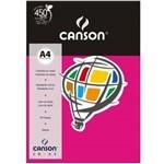 Papel Colorido Canson A4 180g/m² 10 Folhas Rosa Escuro