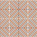 Papel de Parede Adesivo Abstrato Churrasqueira Laranja e Cinza Discos Voadores AB14078