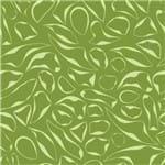 Papel de Parede Adesivo Abstrato Churrasqueira Verde Folhas AB14070