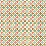 Papel de Parede Adesivo Abstrato Cozinha Colorido Ladrilhos de Viena AB14048