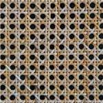 Papel de Parede Adesivo Abstrato Hall Bege Trama Austríaca AB14132