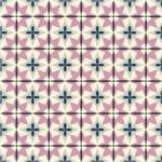 Papel de Parede Adesivo Abstrato Rosa Sala de Jantar Mandala AB14098
