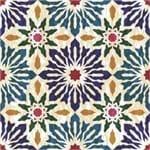 Papel de Parede Adesivo Abstrato Tie Dye Churrasqueira Kanga AB14129