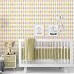 Papel de Parede Adesivo Autocolante Bebê Alice BY512