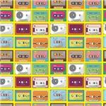 Papel de Parede Adesivo - Cassete - N0015