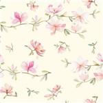 Papel de Parede Adesivo Cerejeira Rosa 2,70x0,57m