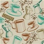 Papel de Parede Adesivo - Coffee - N0022
