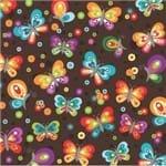 Papel de Parede Adesivo Colorido Quarto Teen Borboletas QT19025