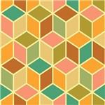 Papel de Parede Adesivo - Cubos - N0172