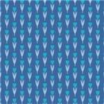 Papel de Parede Adesivo Flores Tulipa Azul Samanta FL13138