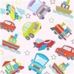 Papel de Parede Adesivo Infantil Quarto Transportes IF12090