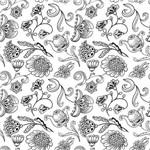 Papel de Parede Adesivo - Jardim - N0105