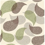 Papel de Parede Adesivo - Mosaico Folhas - N0013